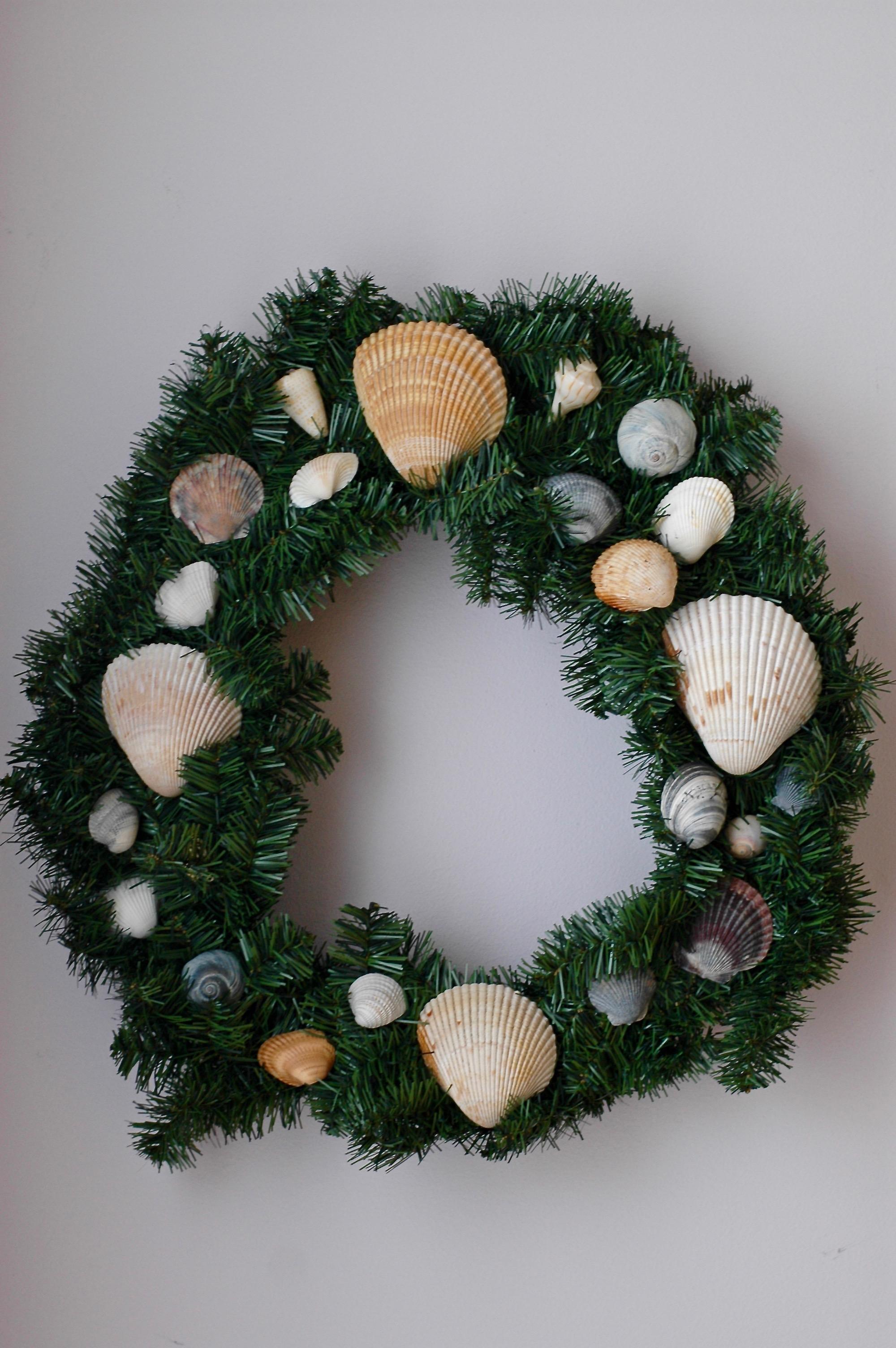 D.I.Y. Seashell Wreath