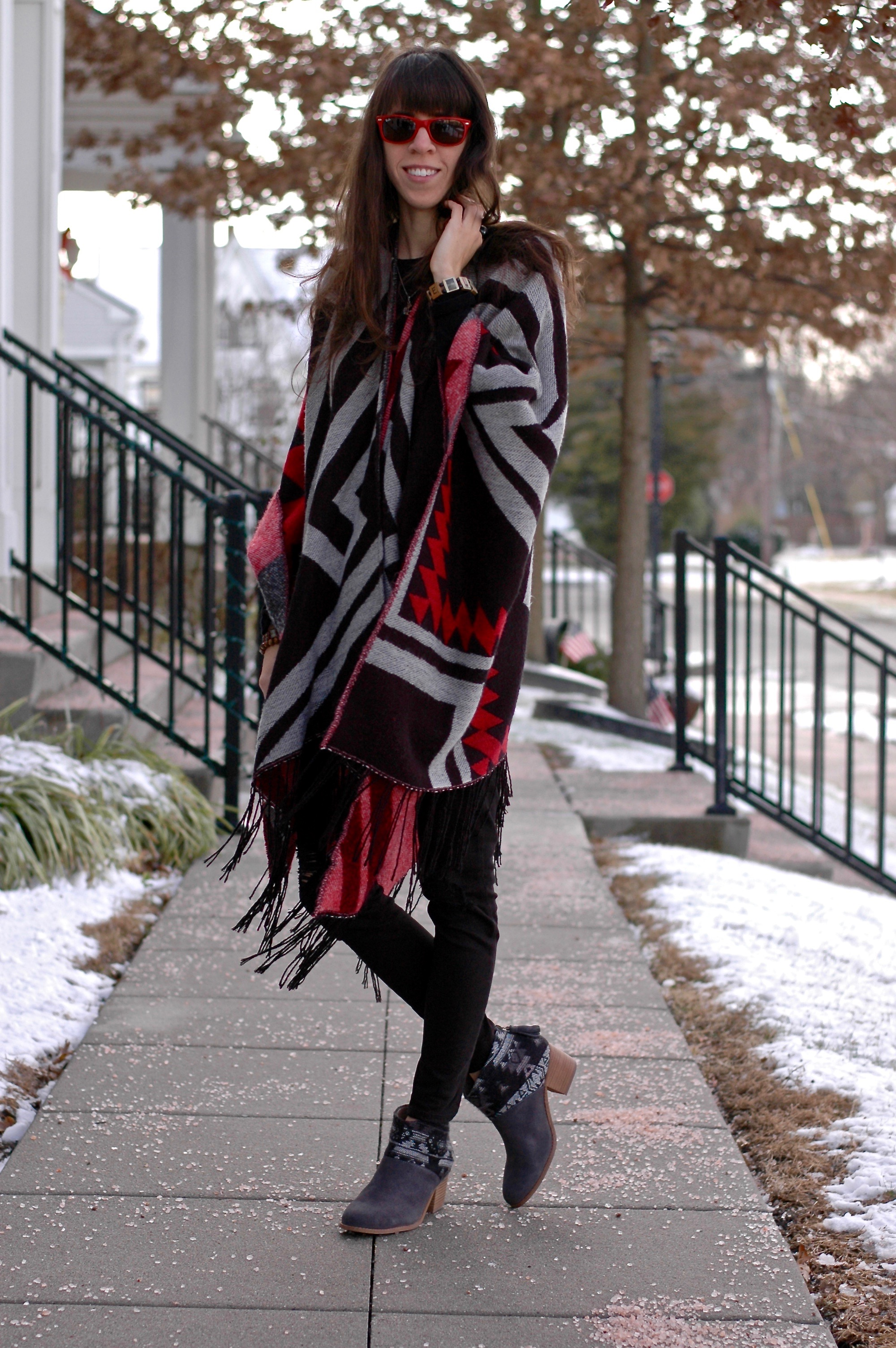 Warm and Cozy Poncho