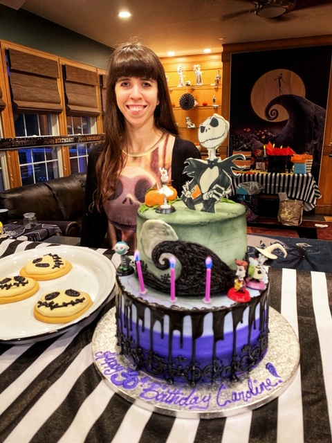 Blog-O-Ween Day 14- Nightmare Before Christmas Surprise Party
