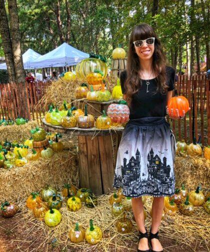 Glass Pumpkin Patch-The Poppy Skull
