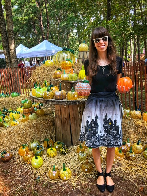 Blog-O-Ween Day 3- Wheaton Arts Glass Pumpkin Patch