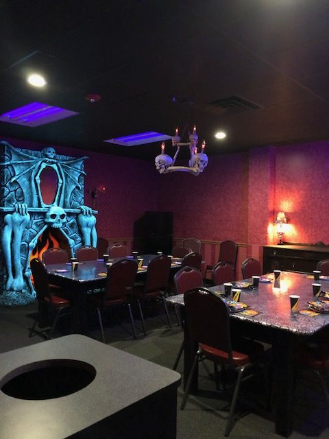 Spooky Dining Room
