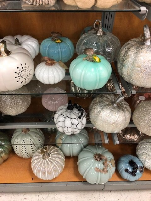 Affordable Glass Pumpkins