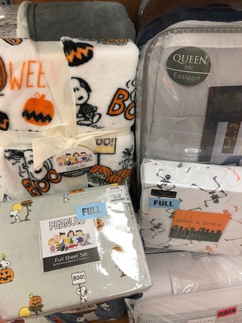 Affordable Halloween Blankets T.J. Maxx