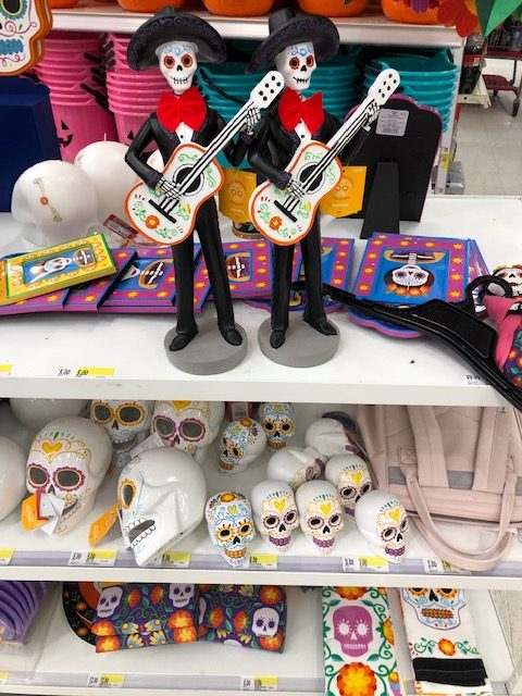 Day of the Dead at Target