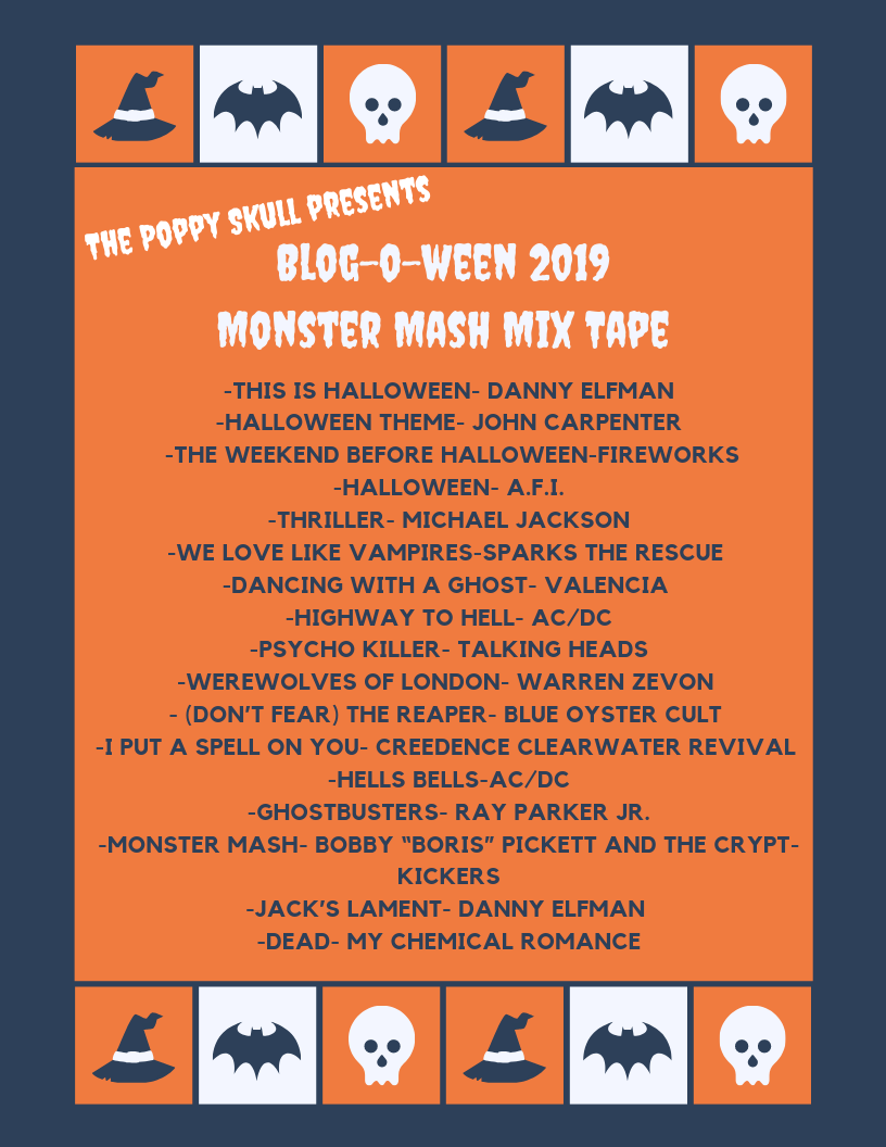 Blog-O-Ween Day 7-Halloween Party Playlist