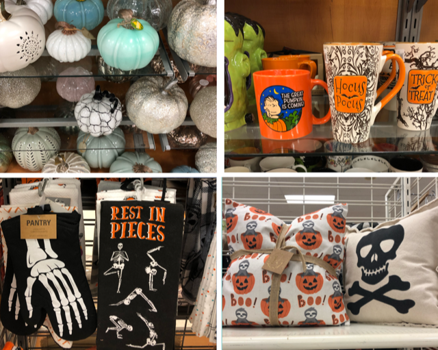 Blog-O-Ween Day 6- Halloween Shopping at T.J. Maxx