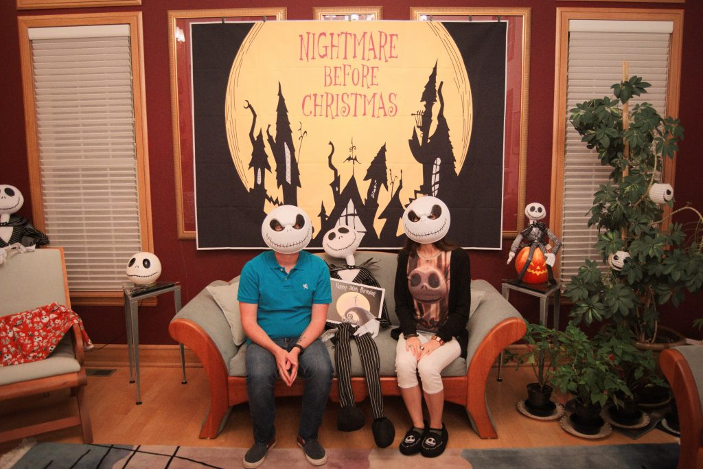 Nightmare Before Christmas Birthday Party