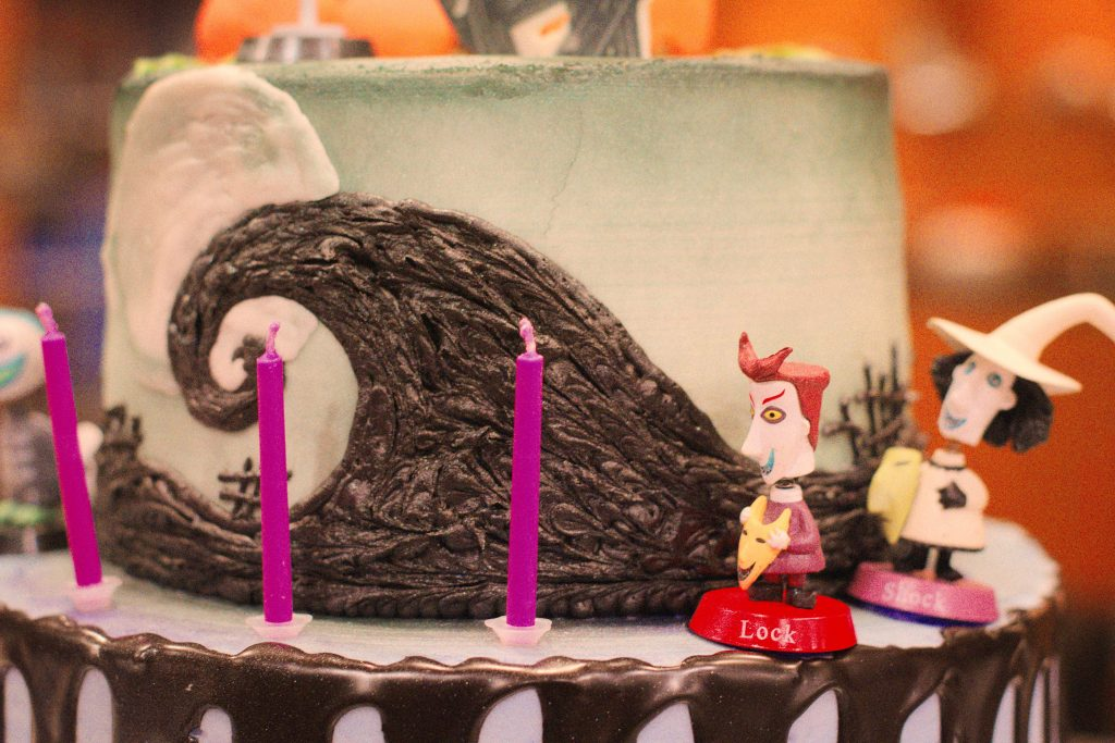 Epic Nightmare Before Christmas Cake