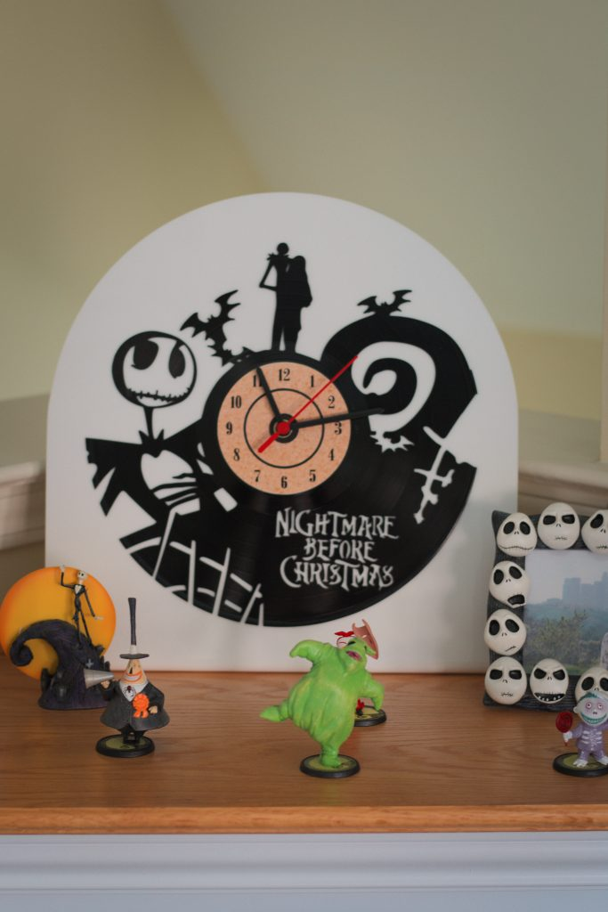 Nightmare Vinyl Clock