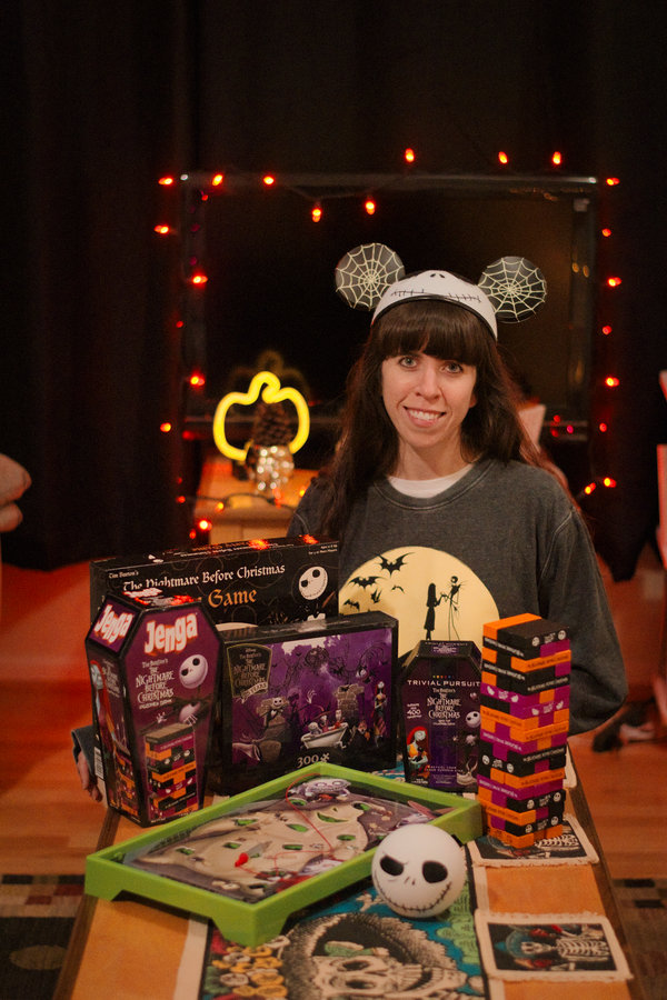 Blog-O-Ween Day 18- Nightmare Before Christmas Game Night
