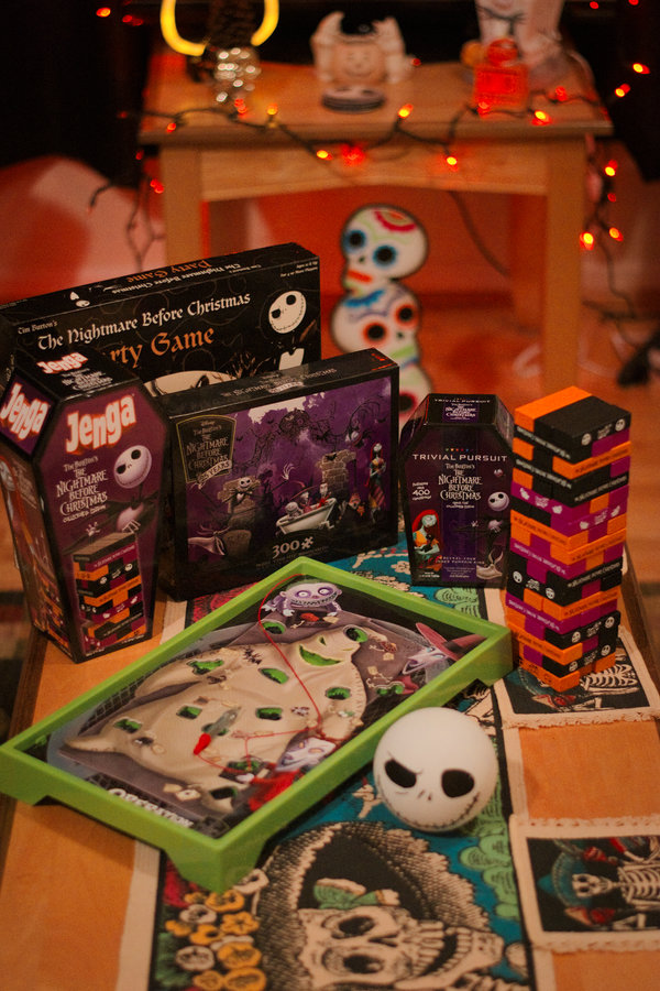 Nightmare Before Christmas Game Night