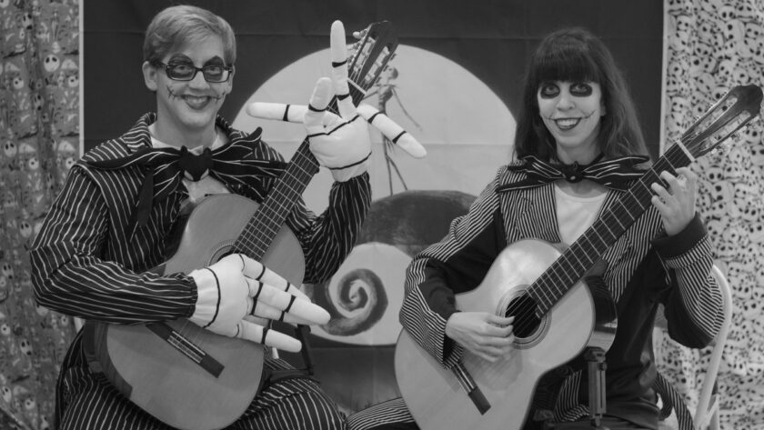 This Is Halloween For Two Guitars