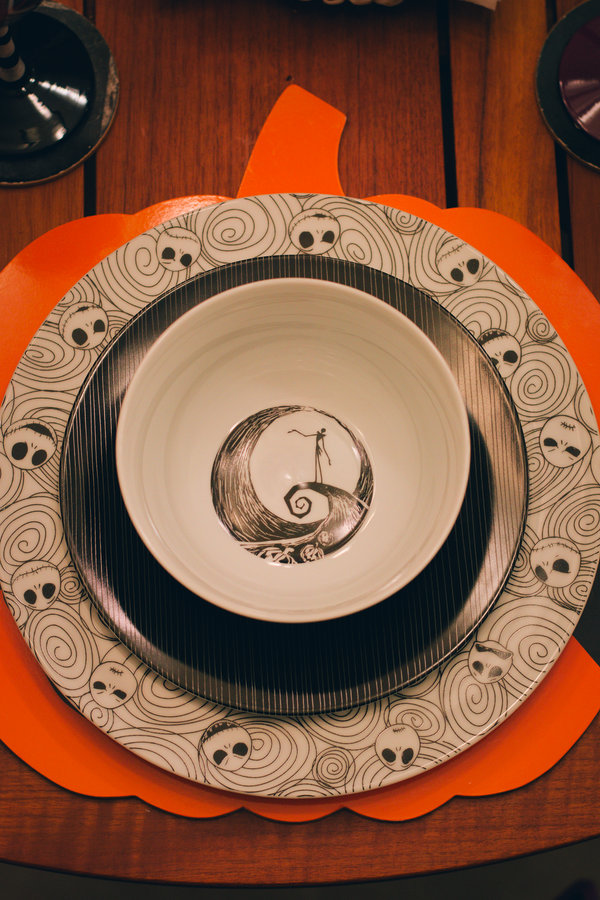 Nightmare Before Christmas Plates