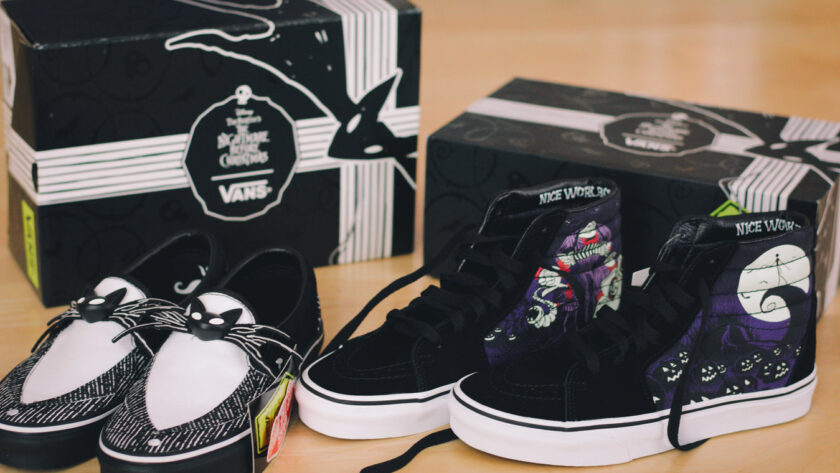 Nightmare Before Christmas Vans Collection