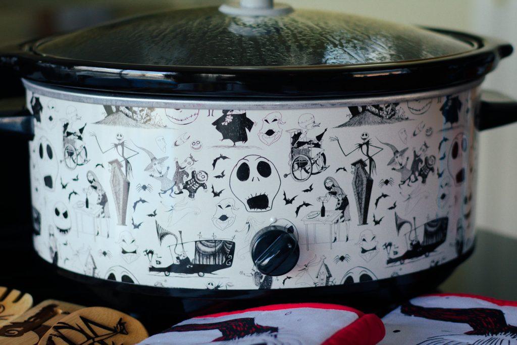 Nightmare Before Christmas Slow Cooker- The Poppy Skull