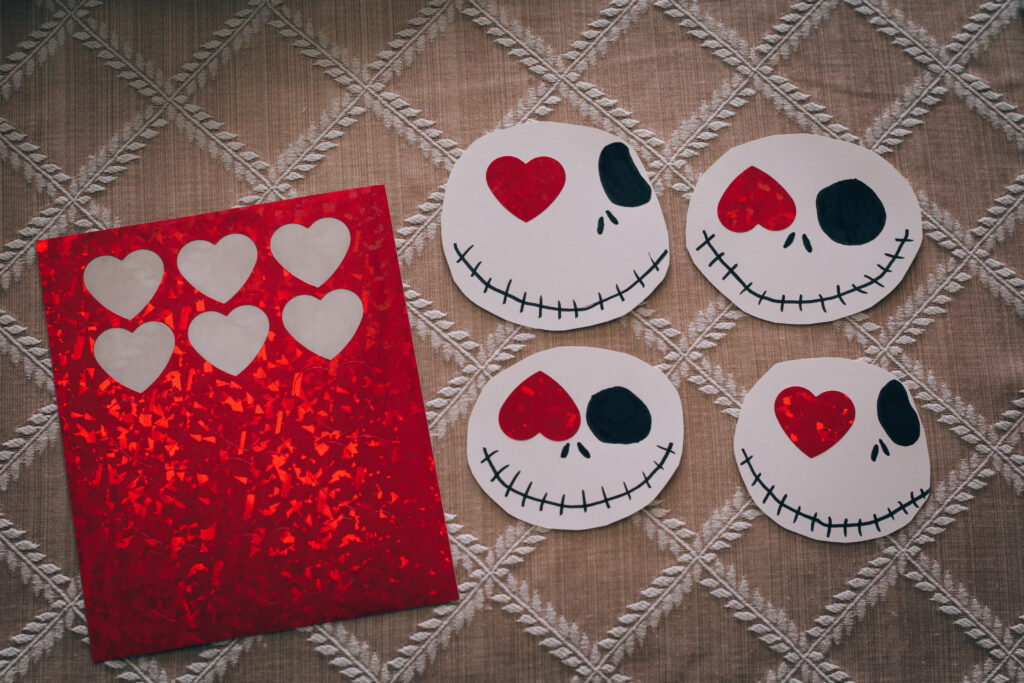 Jack Skellington Valentine