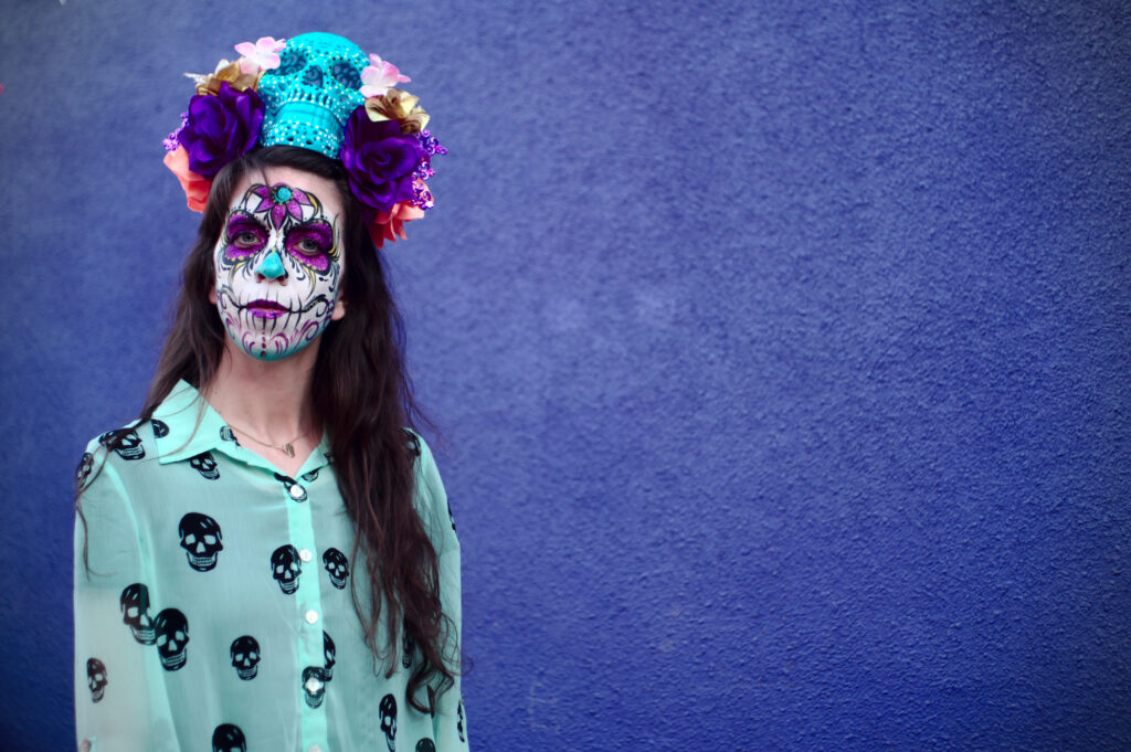 Sugar Skull Face Paint- Day of The Dead