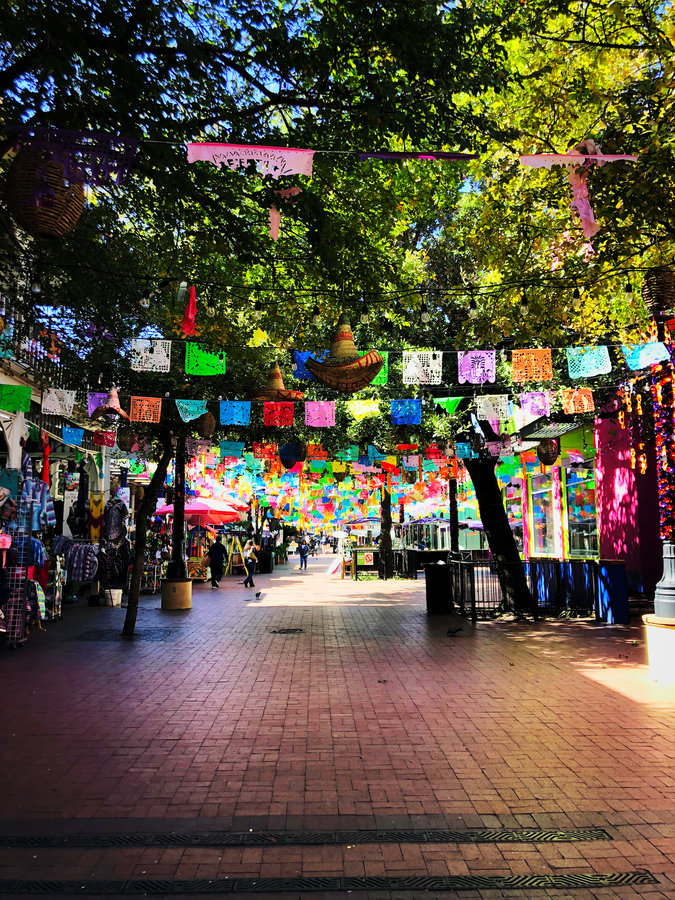 Shopping at Historic Market Square, San Antonio Texas