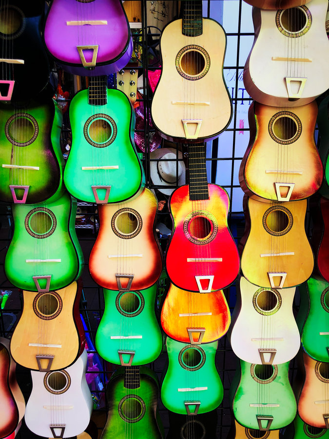 Guitars at Market Square San Antonio