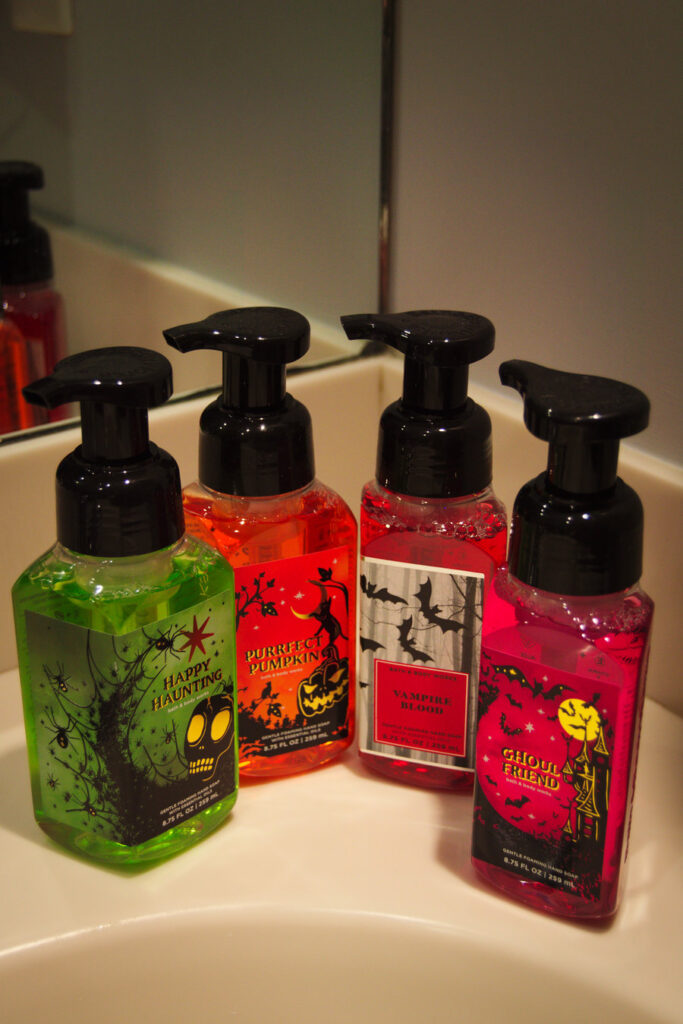 Bath and Body Works Halloween Soap