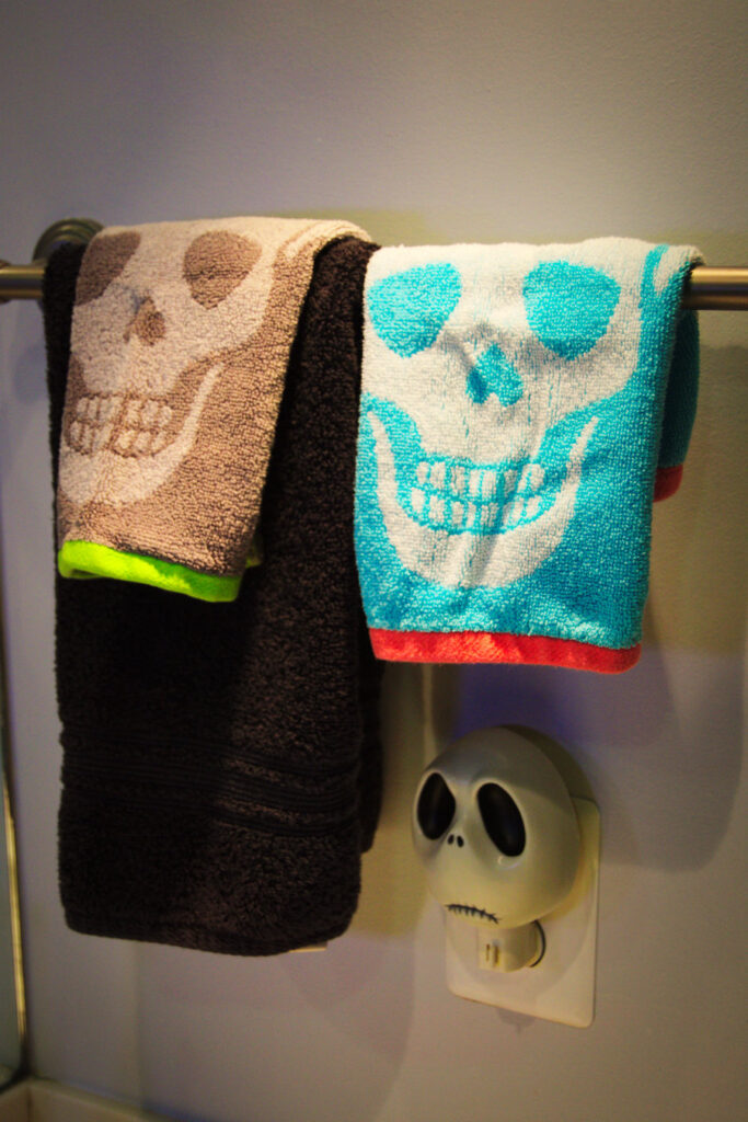 Skull Bath Towels