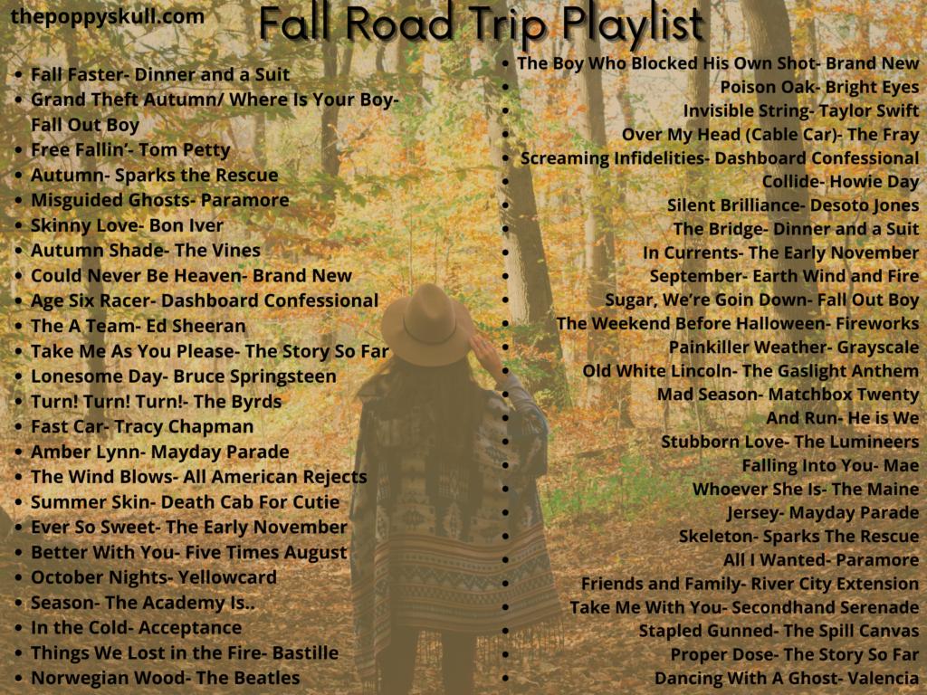 Fall Road Trip Playlist