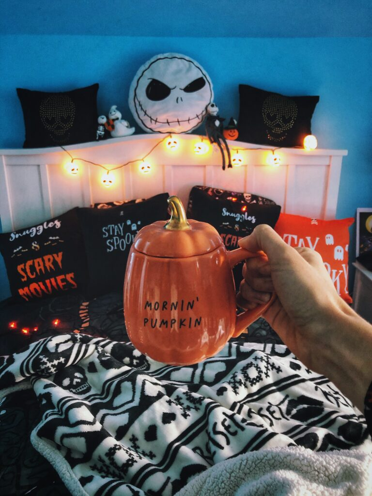 Spooky Fall Morning Routine