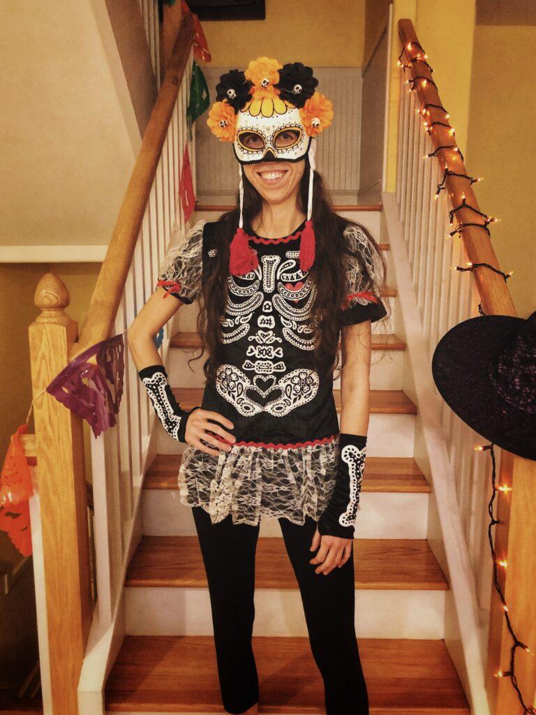 Sassy Skeleton Costume