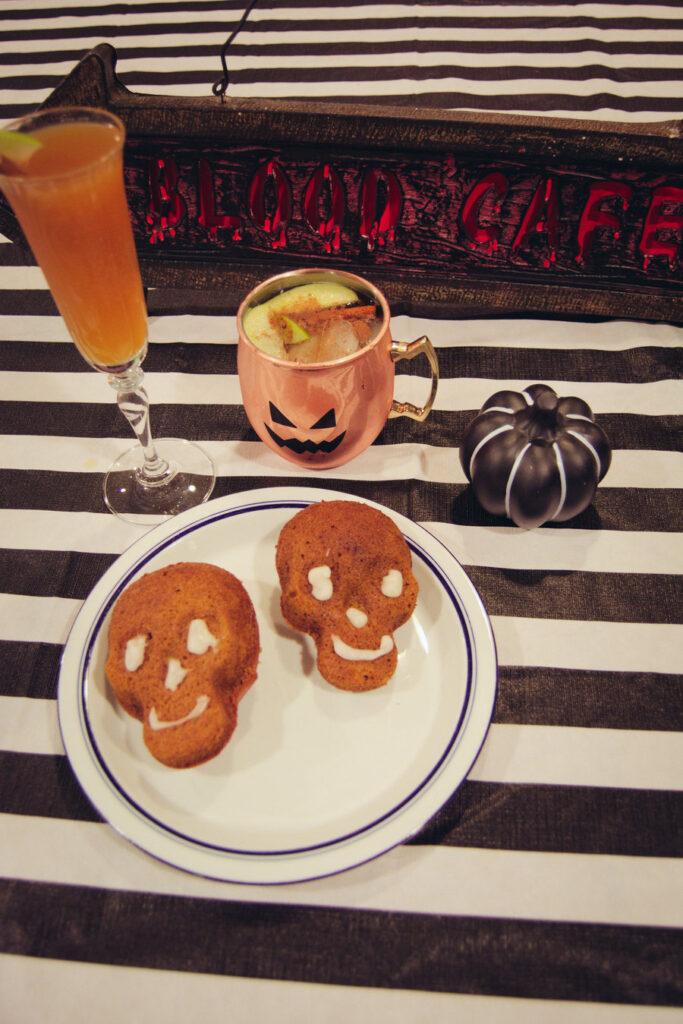 Skull Pumpkin Bread