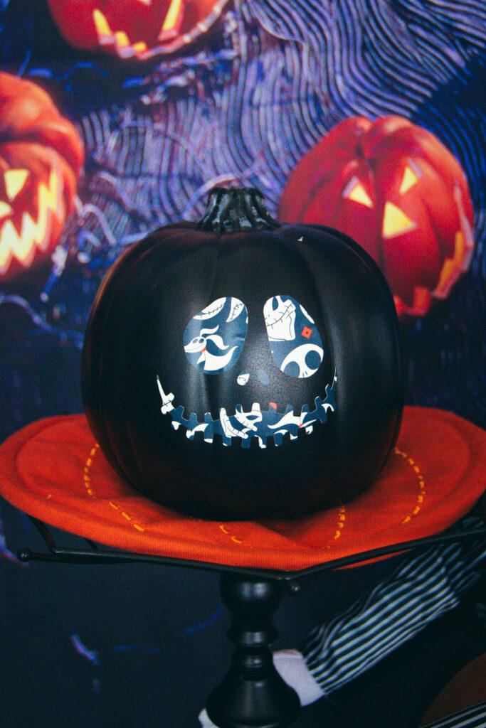 Jack Skellington Cricut Pumpkin