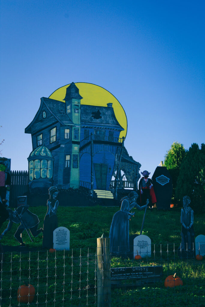 linvilla orchards haunted house