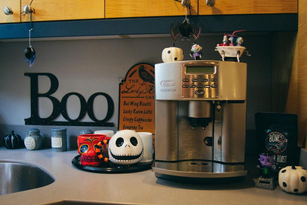 Halloween Coffee Bar Signs