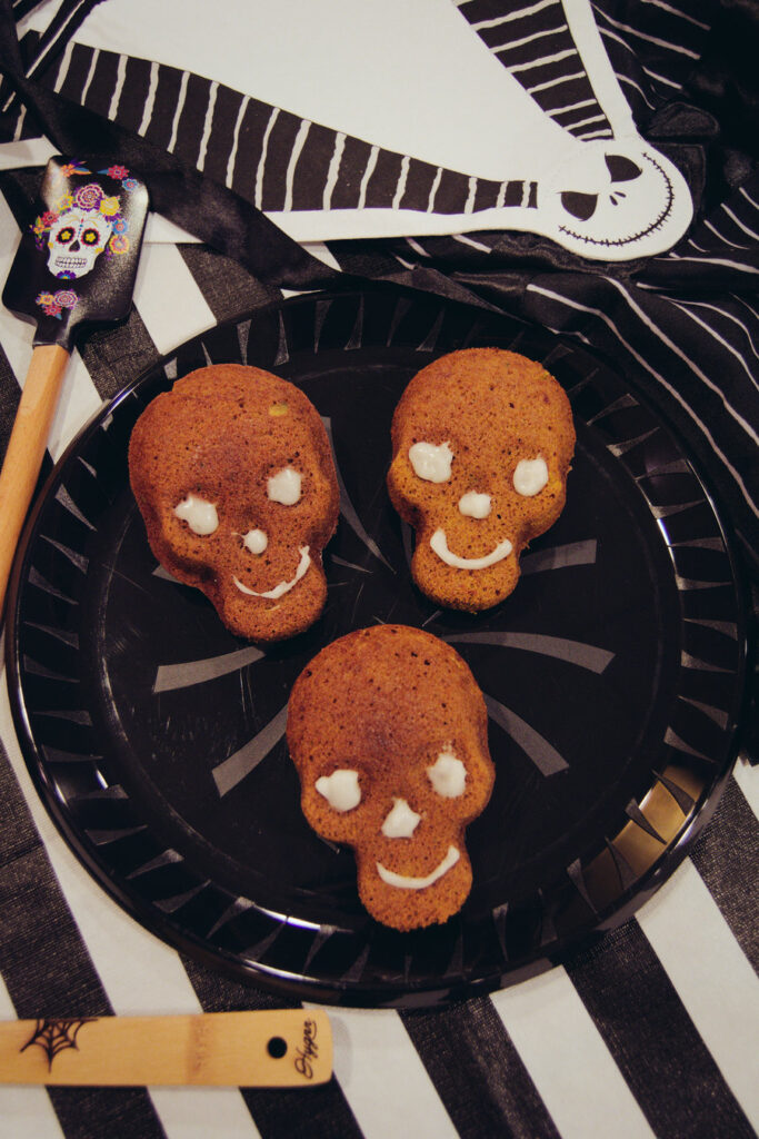 Skull Pumpkin Bread