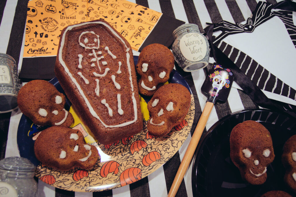 Coffin Pumpkin Bread