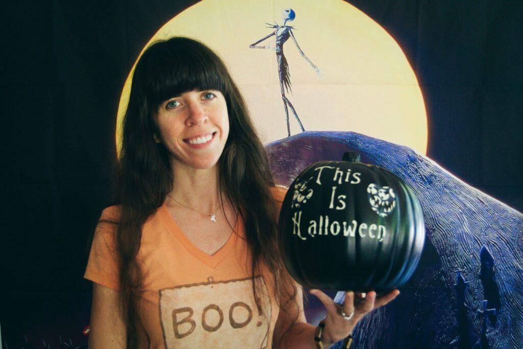this is halloween pumpkin