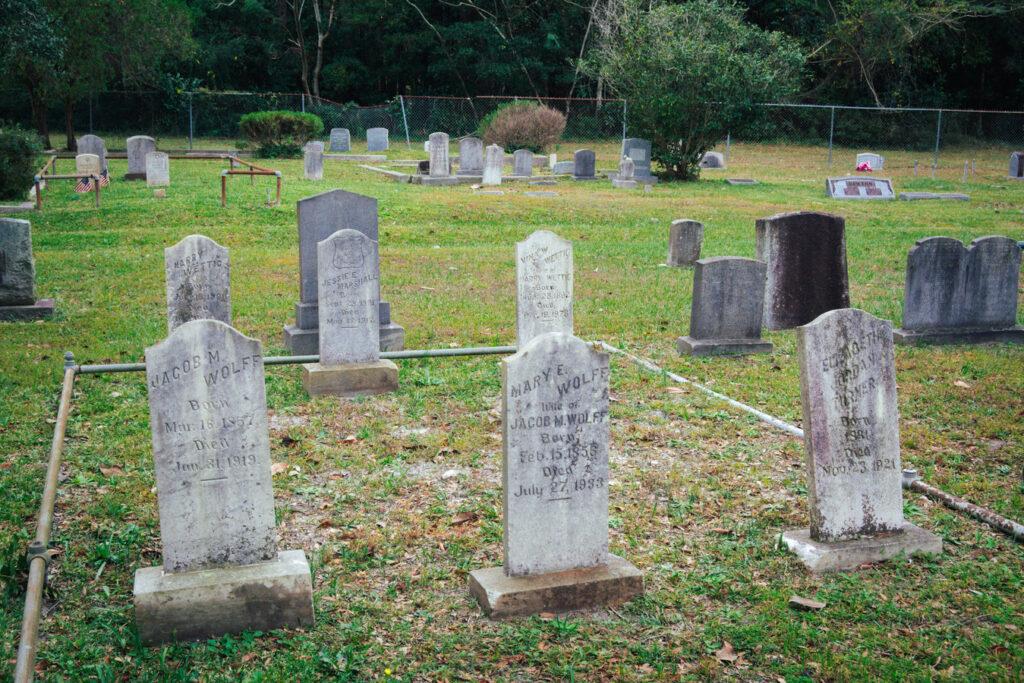 Bellevue North Carolina Old Cemetery