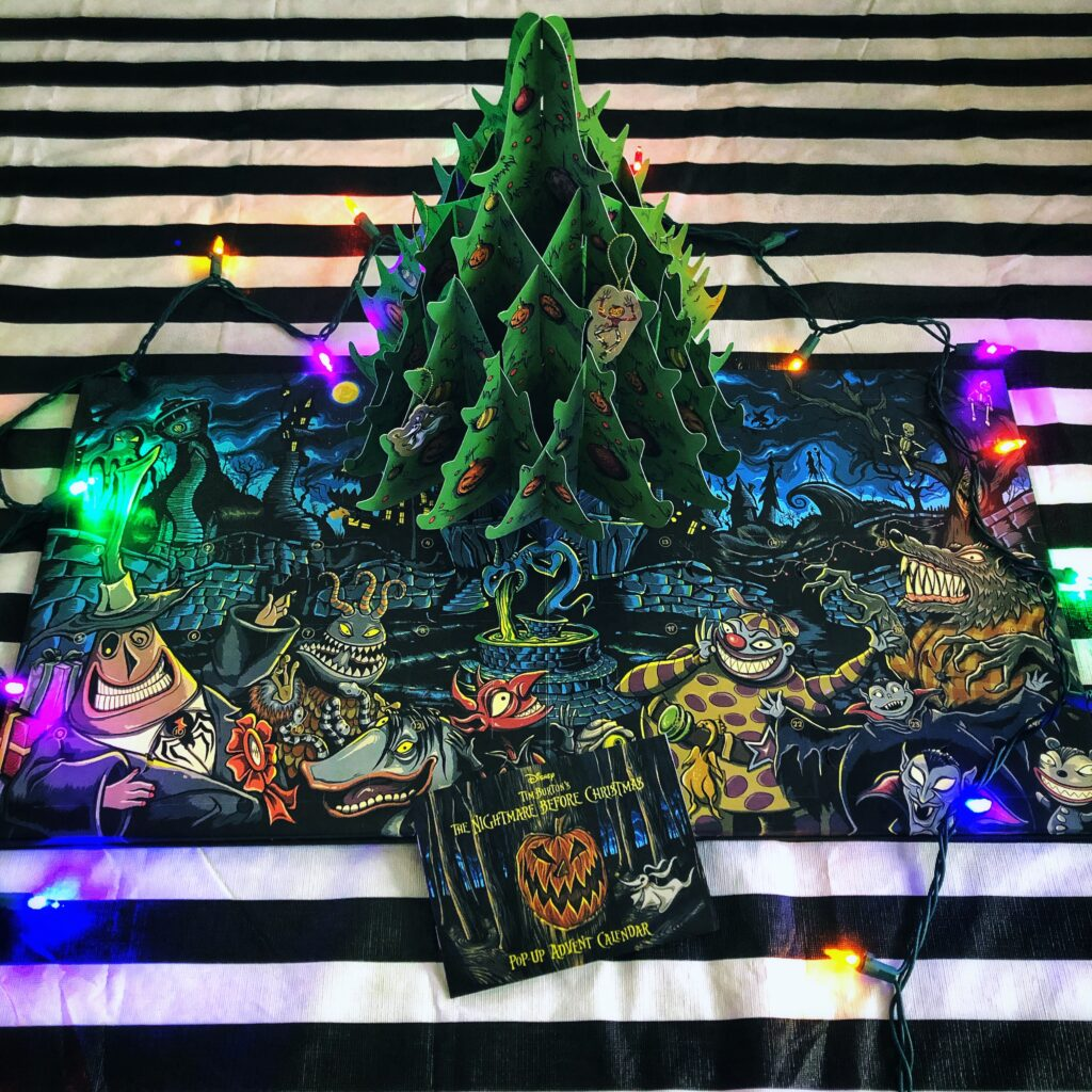 Nightmare Before Christmas Pop Up Advent Calendar