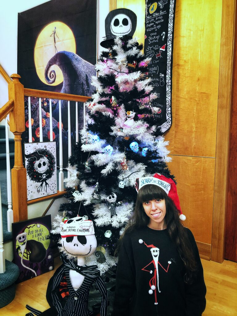 Create a Nightmare Before Christmas Tree