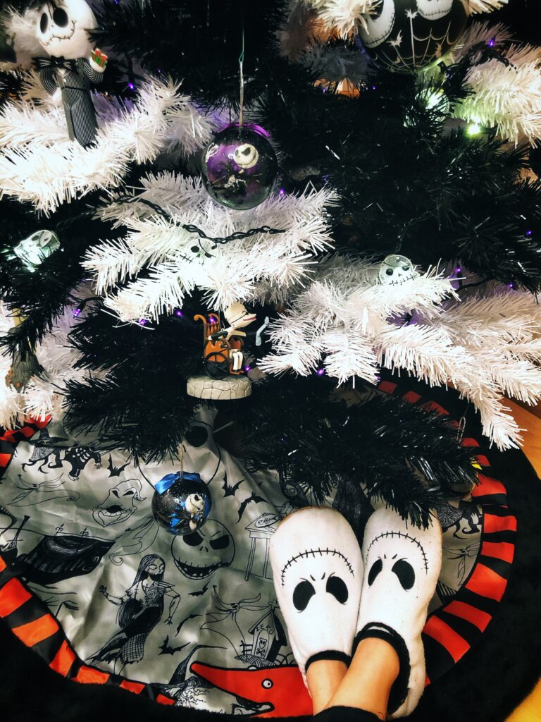 Nightmare Before Christmas Tree Skirt