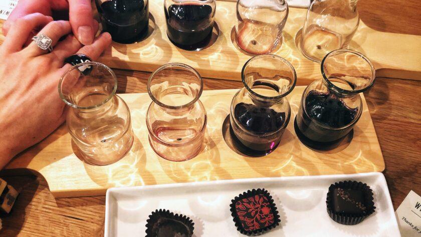 William Heritage Winery Wine and Chocolate Tasting