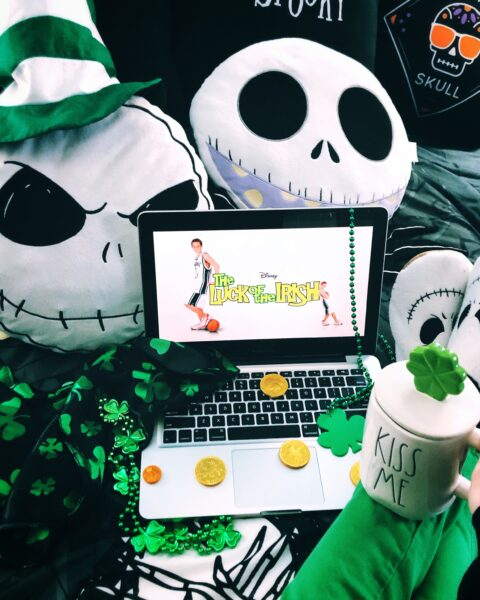 St. Patrick's Day At Home- The Poppy Skull