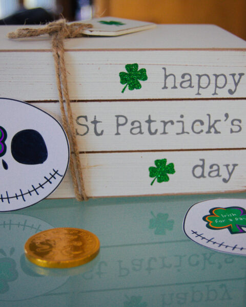 Jack Skellington Shamrocks