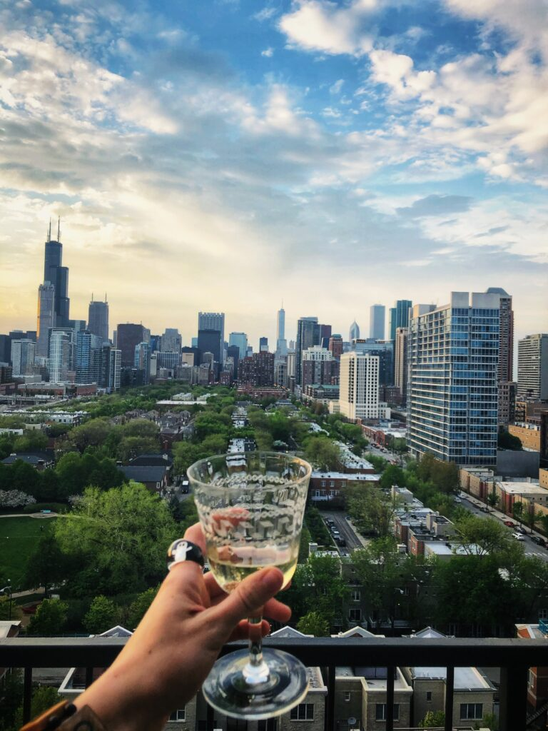 Chicago Rooftop Drinks