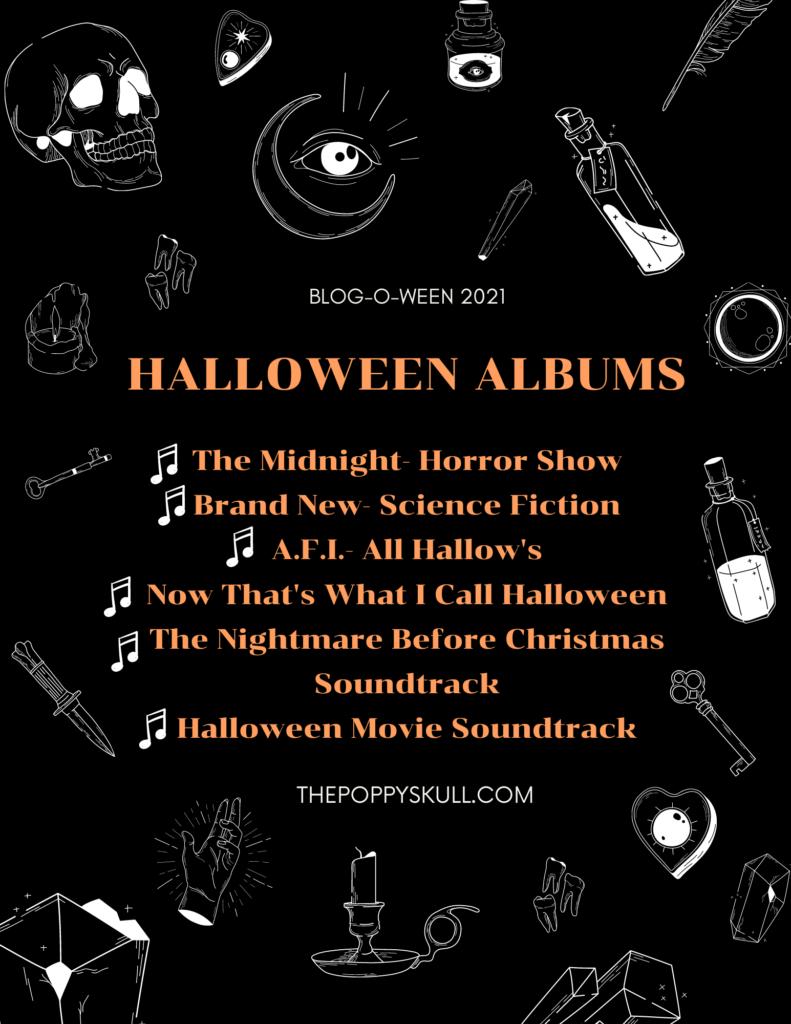 Halloween Albums- Blog-O-Ween 2021