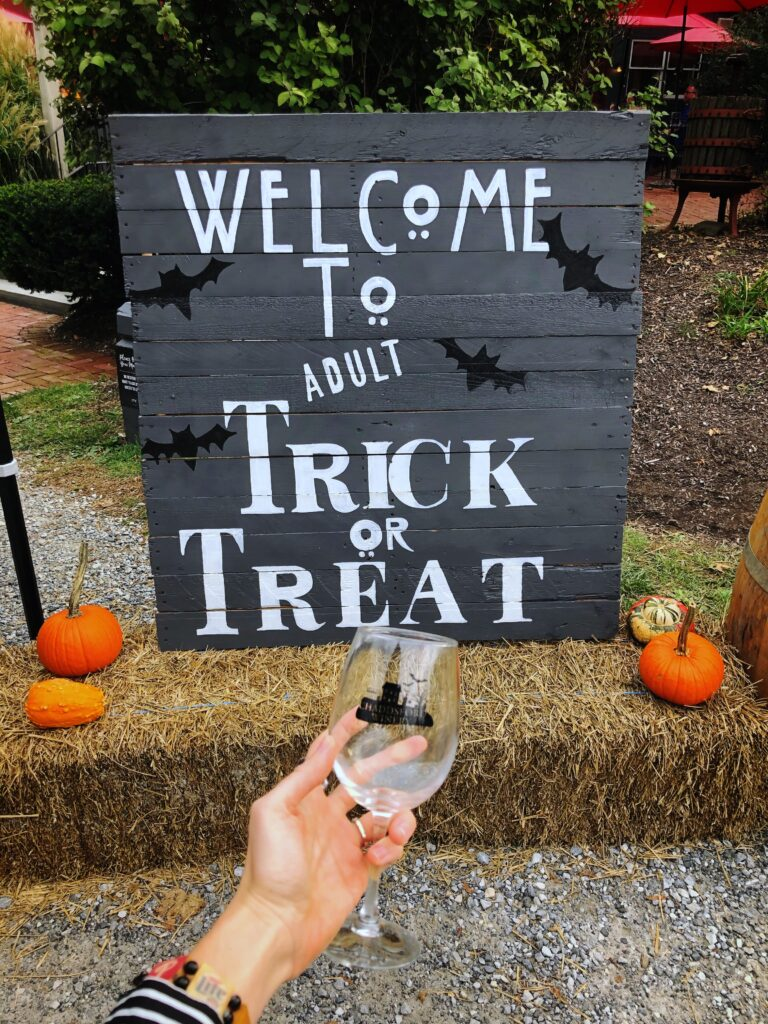 Chaddsford Winery Adult Trick or Treat