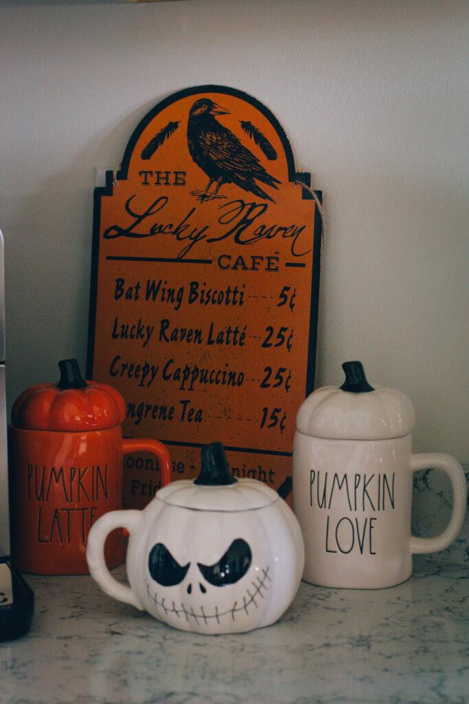 Rae Dunn Halloween Coffee