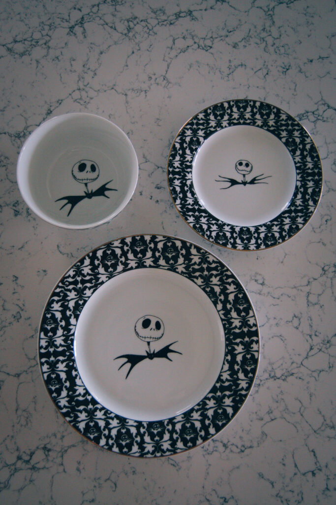 Jack Skellington Dishes