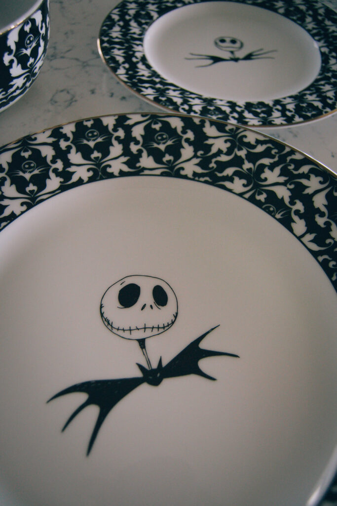 Nightmare Before Christmas Dishes